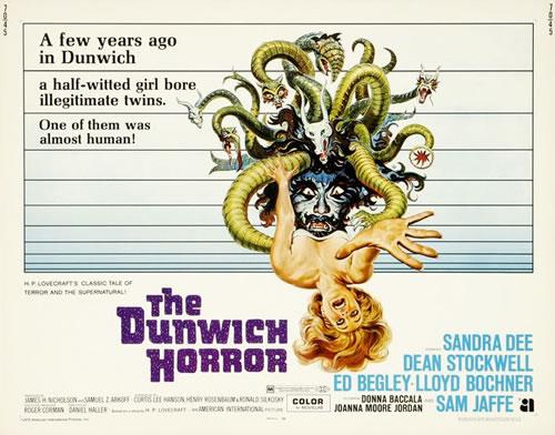 Cartel de El horror de Dunwich